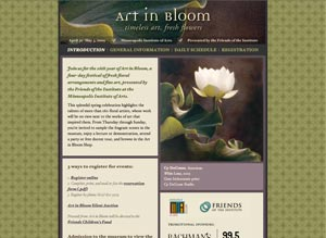 Art in Bloom 2009
