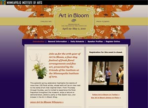 Art in Bloom 2010