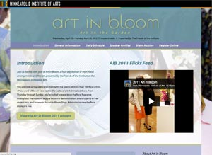 Art in Bloom 2012