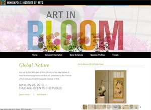 Art in Bloom 2013