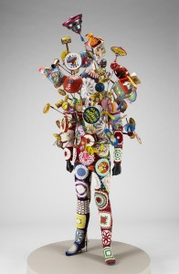 """Nick Cave's """"Soundsuit,"""" from 2010, another object featured in Listen."""