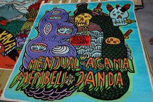 Embroidery by Eko Nugroho
