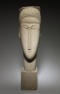 """Modigliani's """"Head of a Woman"""" is on display in gallery 367 at the MIA."""