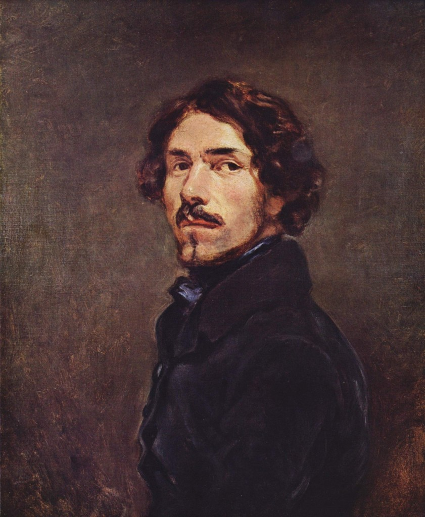 Delacroix_SelfPortrait_Uffizi