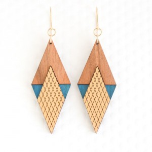 Art Deco earrings.