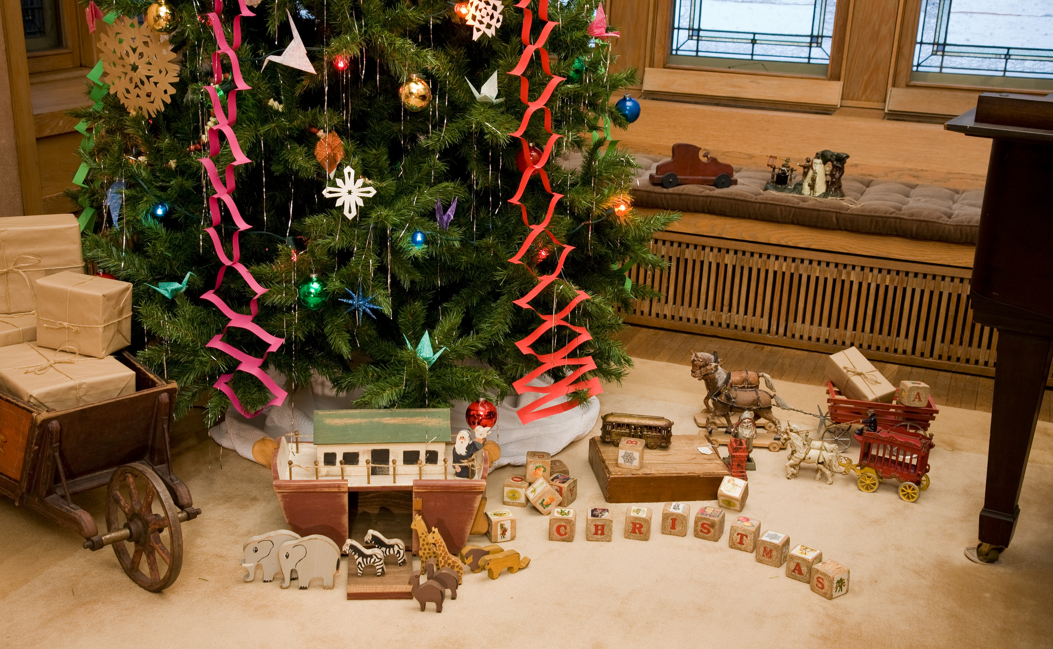 Purcell-Cutts House, Holiday Traditions 2007