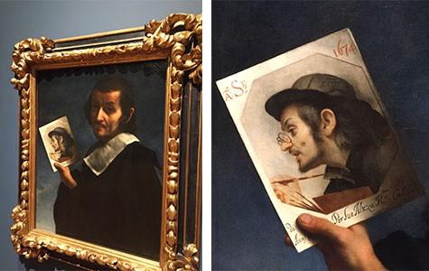 "Carlo Dolci's ""Self-Portrait"""