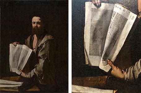 Jusepe de Ribera's portrait of Euclid