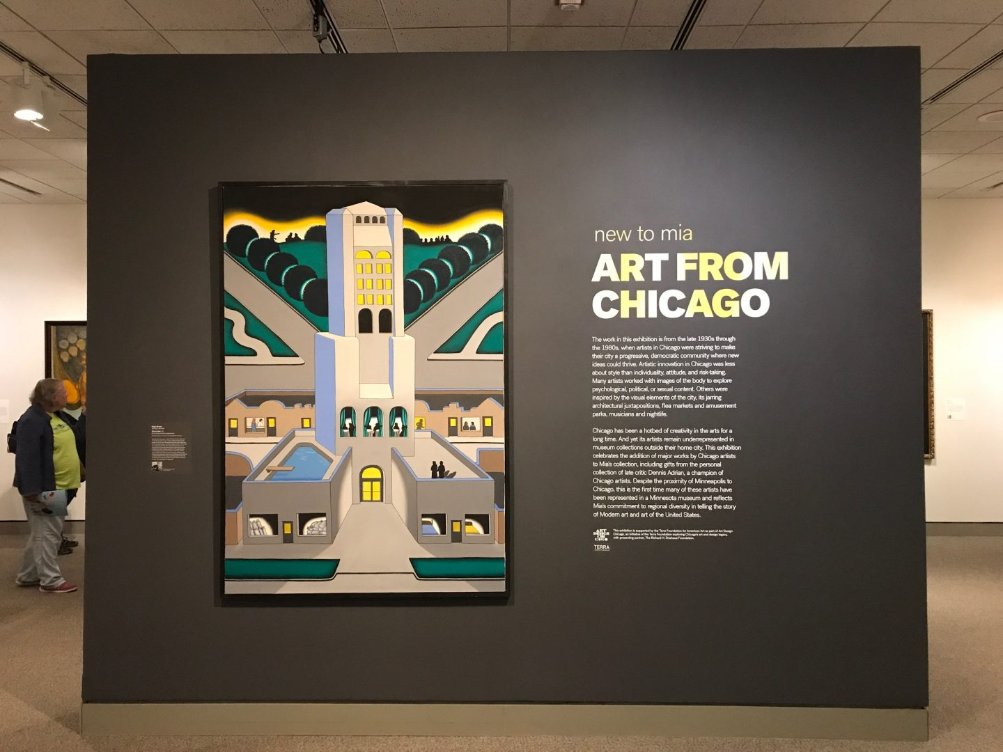 """New to Mia: Art from Chicago"""