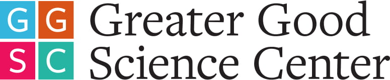 Logo for the Greater Good Science Center at University of California Berkeley