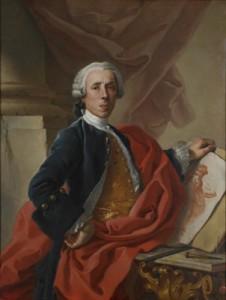 Francisco de Mura's 1740 self-portrait was designed to impress.